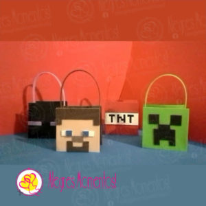 Bolsitas Golosineras Minecraft