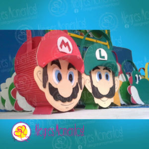 Bolsitas Golosineras Super Mario Bross