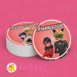 Stickers Toppers Ladybug