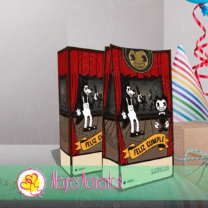 Bendy And The Ink Machine Bolsitas Golosineras X 40 Unidades