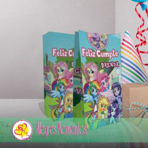 Bolsitas Golosineras Equestria Girls My Little Pony x 40u