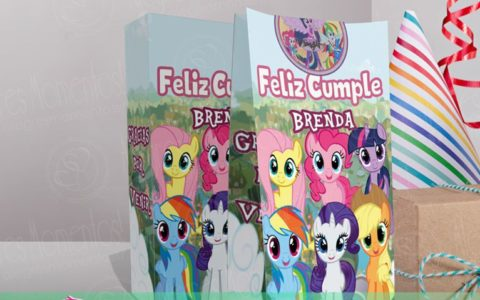 Bolsitas Golosineras My Little Pony x 40u