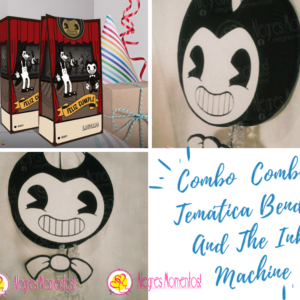 Combo Temática Bendy And The Ink Machine