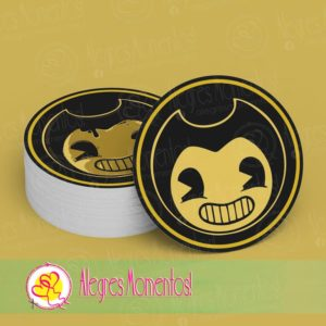 Stickers para golosinas Bendy And The Ink Machine