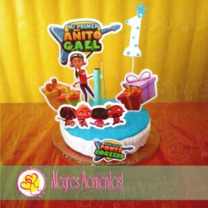 Topper cake Mini Beat Power Rockers